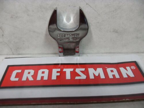 """NEW CRAFTSMAN CROWFOOT WRENCH FOR RATCHET// EXTENSION 3//8/"""" DRIVE SAE OR METRIC"""