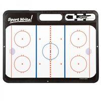 Sports Write Pro Hockey Coaches Strategic White Board (new)