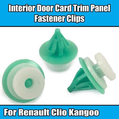 Garnish /& Fascia 10x Plastic Clips for Interior Door Cards Trim Panels