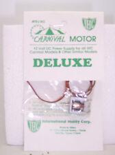 IHC DELUXE CARNIVAL MOTOR 12 VOLT DC POWER SUPPLY FOR CARNIVAL MODELS  #5190