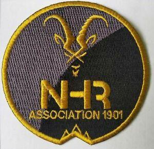 Badge-ecusson-tissu-75mm-Association-NHR-Notre-Histoire-Retrouvee