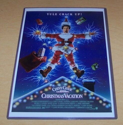 Christmas Vacation 11X17 Movie Poster Chevy Chase Beverly D/'Angelo