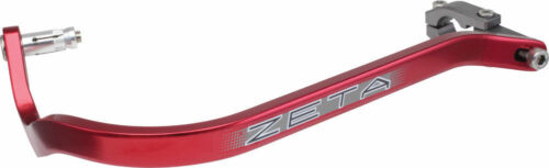 "Zeta Drop Down Bend Aluminum Handguards Pair for 1 1//8/"" Handlebars Red"