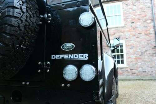NAS Plug /& Play LED Clear Stop Tail Light SVX Land Rover Defender 12v 95mm
