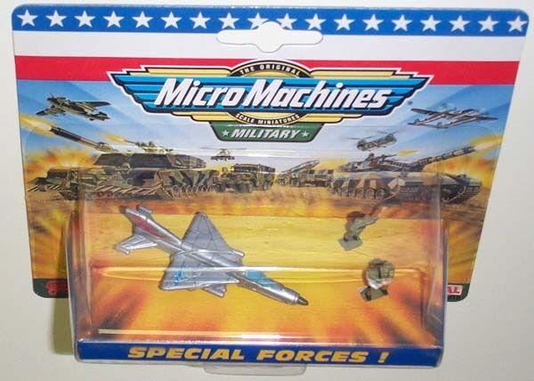 Military Micro Machines 1998 MIG 21 Fishbed MOC