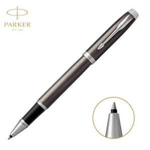 Original Parker New IM Series Gray Color Rollerball Pen With 0.5mm Pen Refill