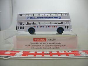 Af580-0-5-1-Pieces-WIKING-h0-modele-publicitaire-speciaux-modele-peril-Bussing-Bus