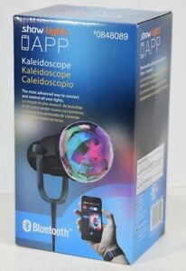 NEW SHOW LIGHTS KALEIDOSCOPE PROJECTOR BLUETOOTH PHONE APP TIMER PARTY HOLIDAY 30539035549 | eBay