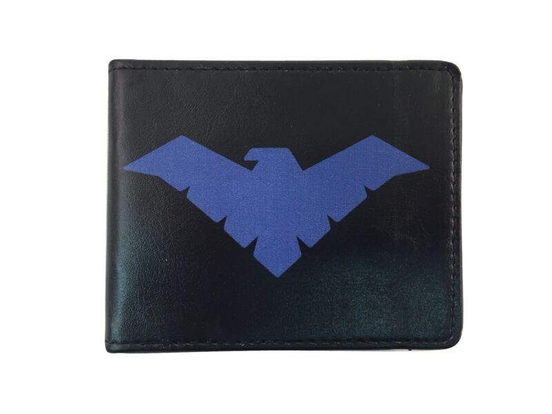 Batman Nightwing Logo Dc Comics Erwachsene Faltgeldbörse