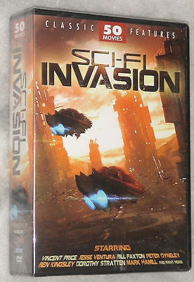 Sci-FI Invasion - 50 Science Fiction Movies DVD Box Set NEW & SEALED