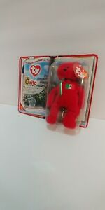 Ty Beanie Babies Mex Osito - red in color new in the package came out in yr 2000