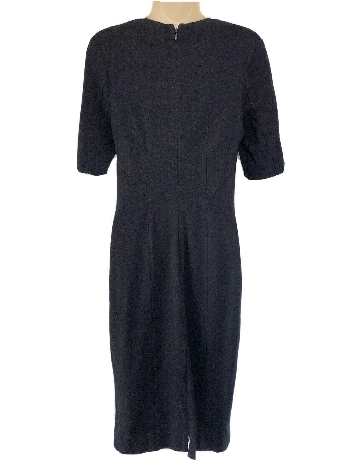 CAbi Claire Short Sleeve V Neck Sheath Dress Pont… - image 4