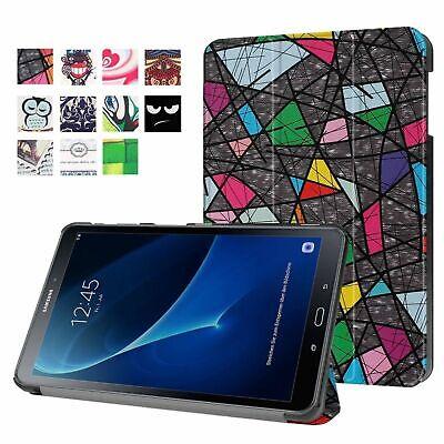 Sincero Custodia Per Samsung Galaxy Tab A 10.1 Sm-t580 Sm-t585 Cover Custodia Protettiva Borsa-mostra Il Titolo Originale Carattere Aromatico E Gusto Gradevole