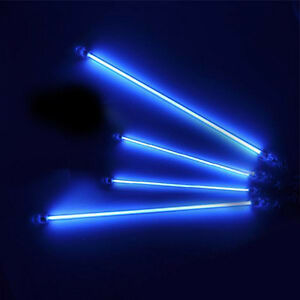 Blue-4-Piece-Cold-Cathode-Car-Auto-Neon-Kit-Lights-Undercar-Underbody-CCFL-Lamp