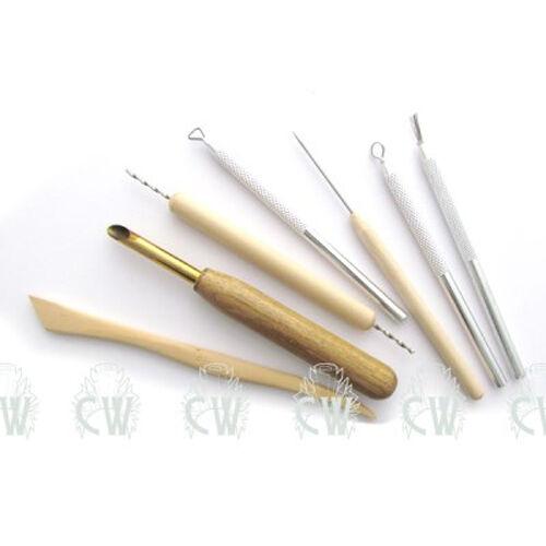 Cerámica Escultura artista arcilla de modelado Royal Potters 7 conjunto de herramientas rset-pot15