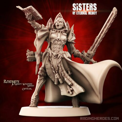 Female Infantry SoEM Sci-Fi Details about  /Raging Heroes 29914 Revengers Heavy Weapons Squad