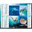 Calendrier-2021-La-Poste-Almanachs-PTT-35-References-Divers-Animaux-Paysages miniature 24