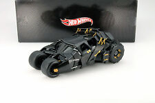 Tumbler Batman Begins Movie Car 2005 schwarz 1:18 HotWheels