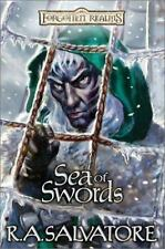 Paths of Darkness: Sea of Swords Bk. 3 by R. A. Salvatore (2001 HB, DJ) Like New