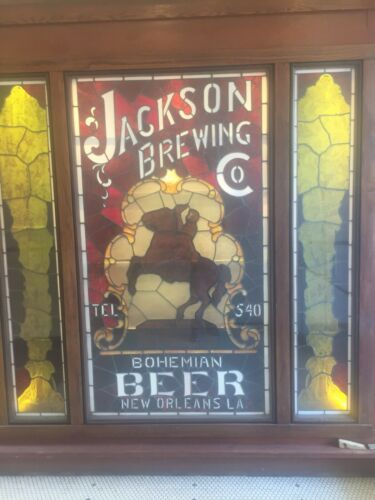 """TIN SIGN /""""Jackson Brewery"""" Brew Beer Micro  Brew Mancave Suds Kegs Vintage Decor"""