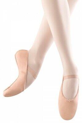 Bloch 209 Arise Balletto Schläppchen Scarpe Danza Classica Pelle Ballettschläppchen Rosa-chen Leder Rosa It-it