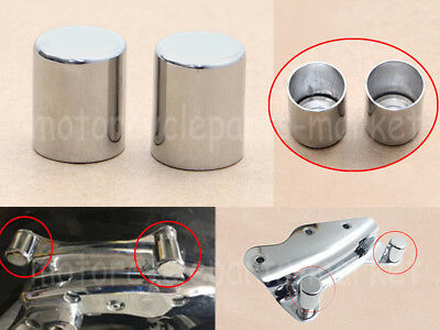 Docking Hardware Point Cover Cap Kit For Harley Road Street Glide Softail Dyna
