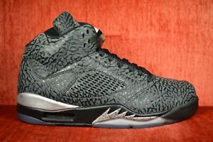 official photos f9d38 2a4d5 Details about WORN TWICE NIKE AIR JORDAN 3LAB5 BLACK-METALLIC SILVER Size  8.5 599581-003