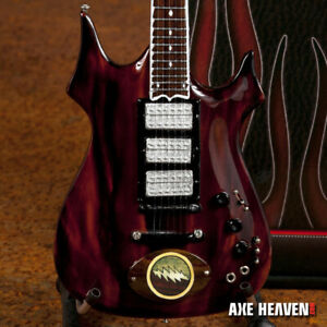 mini guitar grateful dead collectible jerry garcia custom bolt guitar ebay. Black Bedroom Furniture Sets. Home Design Ideas