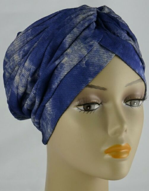 Stylish Turban Hat Under Scarf Beanie Bonnet Cap for Hijab Head Trendy Headscarf