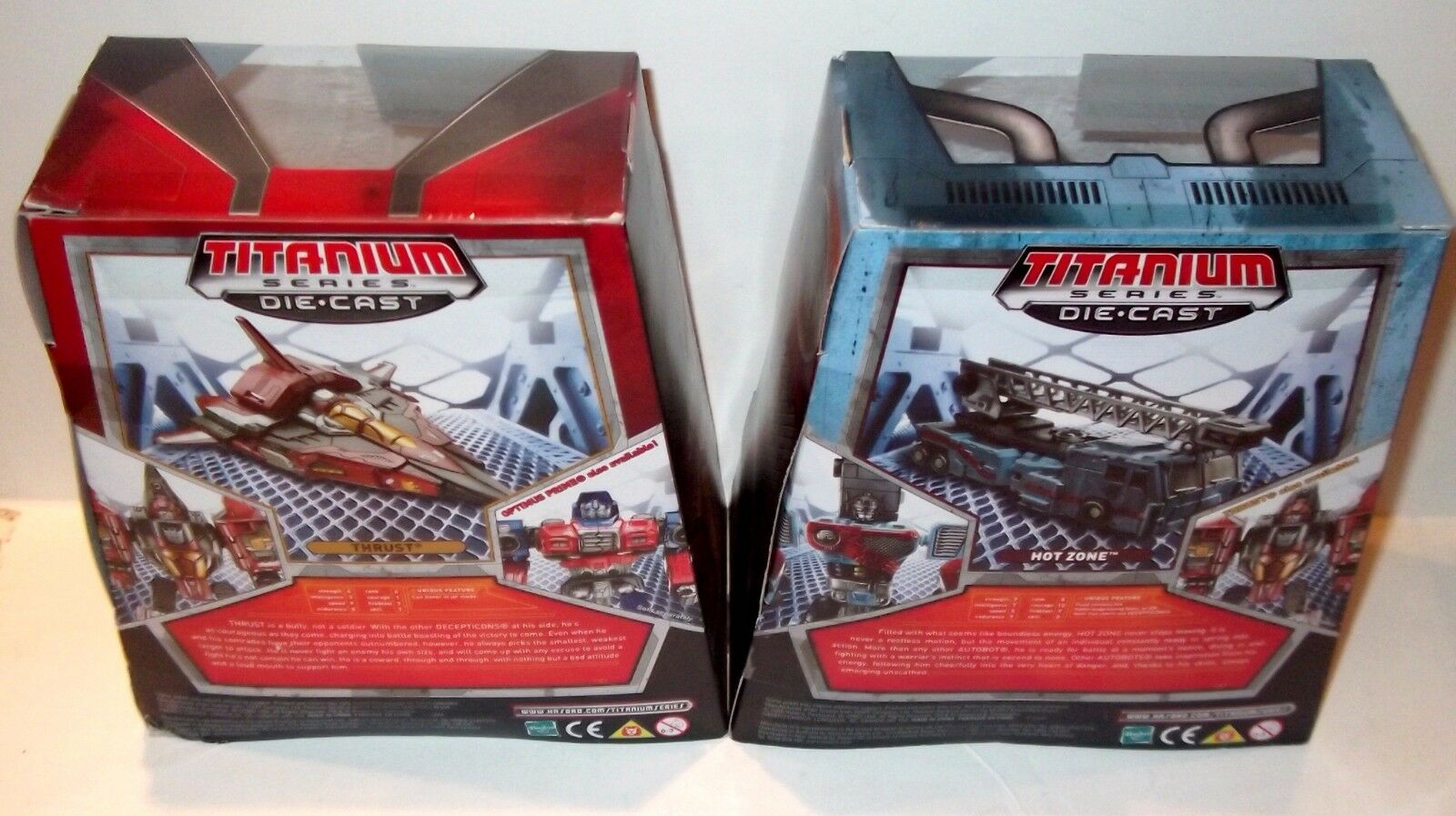 BRAND NEW NEW NEW Transformers Titanium Hot Zone Thrust 25th Anniv Target Exclusive LOT 10b17a