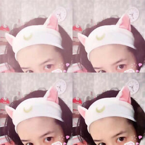 Cute-Women-Headband-Tie-Hairband-Cat-Ear-Hair-Hoop-Band-Hair-Bangs-Accessories