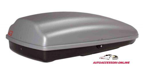 HYDRA 320 ROOF BOX DA TETTO DACHBOX GRIGIO PORTABAGAGLI PORTATUTTO