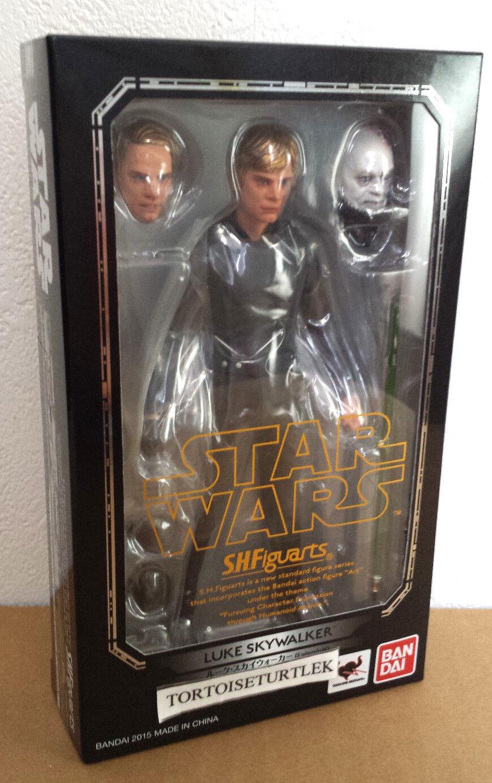 Bandai S.H. Figuarts Estrella Wars Episodio VI Luke Skywalker Figura De Acción