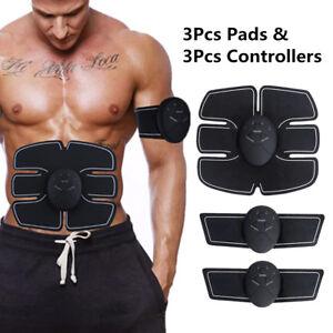 Kit-Stimulation-Abdominale-Electro-Stimulateur-Musculation-Ceinture-Muscle