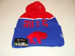 eac312abfdd Buffalo Bills Knit On Field New Era Toque Beanie Retro Sideline NFL ...