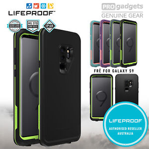 Galaxy S9 plus S9 Case Genuine LIFEPROOF FRE Dust Shock Water Proof for Samsung