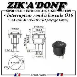 Interrupteur-rond-a-bascule-ON-OFF-3A-250VAC-16-commutateur-2-positions