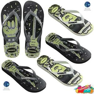 36b5979097e24 Havaianas 4 Nite Brasil Logo Luminous Flip Flops Top Beach Sandals ...
