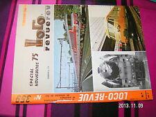 Loco Revue n°359 Nuremberg Panneaux lumineux Faire cylindre & piston