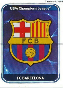 N°209 ECUSSON ESCUDO # FC.BARCELONA UEFA CHAMPIONS LEAGUE 2011 STICKER PANINI