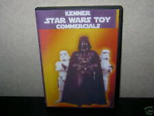 Star Wars VINTAGE,CLASSIC TV ADVERTS DVD,KENNER + LOADS FIGURE'S FOR SALE (10)