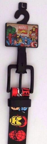 Marvel Comics Avengers Assemble Boy/'s Bonded Leather Belt NWT Size L 36 inch