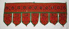New Mirror Toran Wall Hanging - Hippy Fairly Traded Ethnic Boho India Elephant
