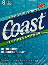 Coast Classic Deodorant Soap 4 oz / 113 g - ( 8 Bars )