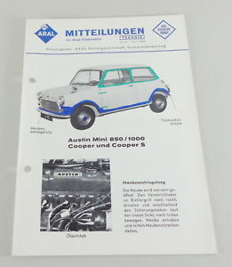 Service Release Aral Austin Mini 8501000 Cooper And Cooper S From