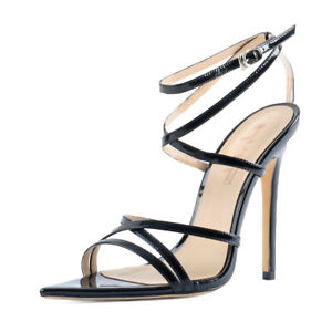 Onlymaker-Sexy-Women-039-s-Open-Toe-Gladiator-Ankle-Strap-High-Heeled-Sandals-US12