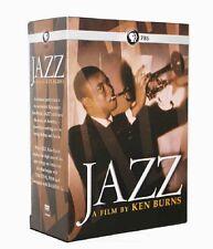 Jazz: PBS Ken Burns PBS Documentery Film 10-Disc DVD Set