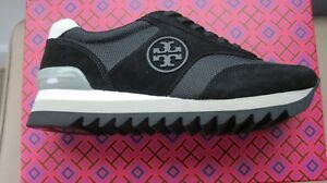 154652b36e03 Image is loading BRAND-NEW-TORY-BURCH-SAWTOOTH-LOGO-SNEAKER-SIZE-