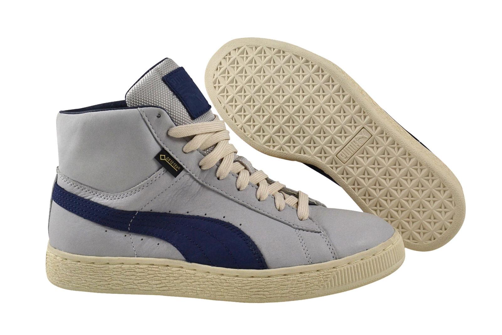Puma Basket MID GTX glacier gray/peacoat Sneaker/Schuhe grau 361900 01