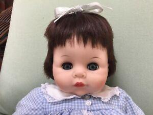 Sweet-Madame-Alexander-Vintage-Pussycat-Doll-14-inch-Original-Dress-Bloomers